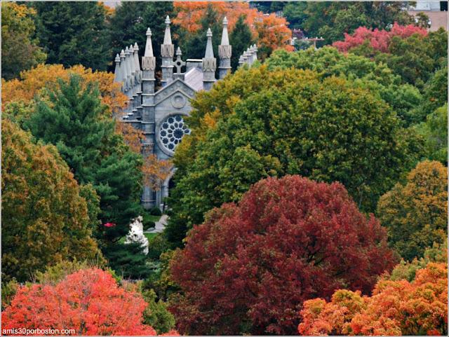 Cementerio Mount Auburn de Cambridge