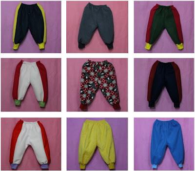 กางเกงเด็กกันหนาว