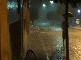 Frei Martinho registra chuvas em grande intensidade; choveu 140 mm nesta terça (16)