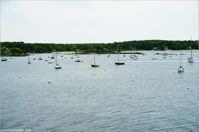Pequeñas Islas junto a la Costa de Maine