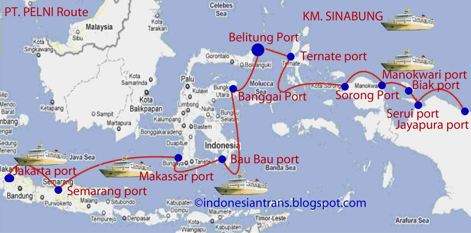 Jadwal Kapal Pelni 2013 Situs Resmi Ptpelni Persero Km Sinabung