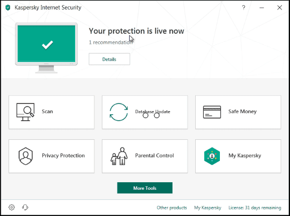 تحميل وتثبيت وشرح Kaspersky Internet Security 2019 كاملا