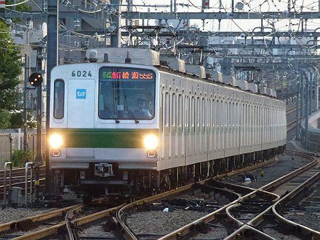 【小田急乗入消滅!】メトロ6000系の多摩急行 綾瀬行き(2017.5運行終了)