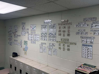 Ms. Cheek math word wall