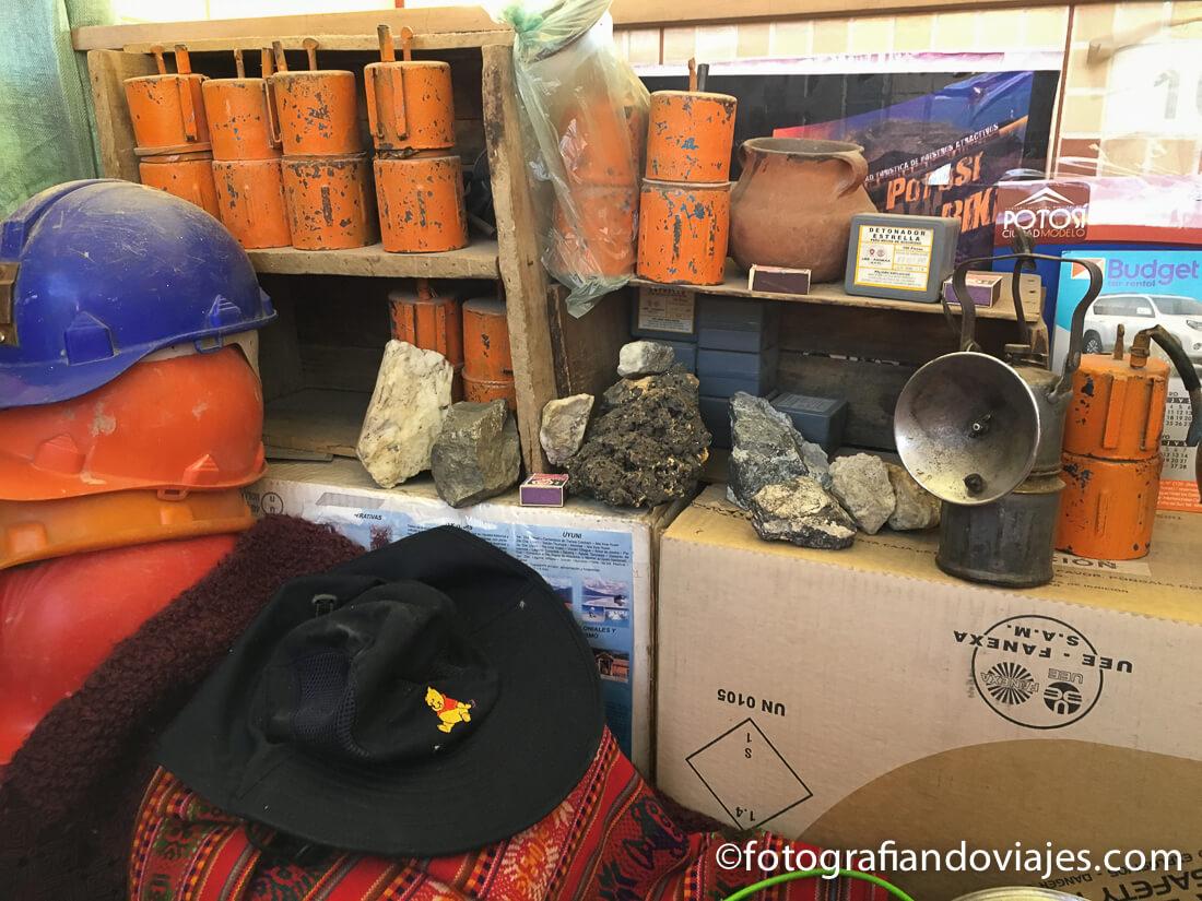 mercado minero Villa Imperial de Potosi Bolivia