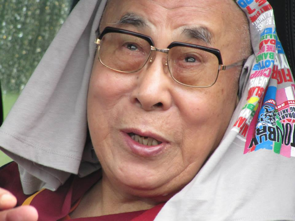 The Dalai Lama at Glastonbury Festival