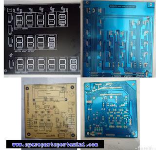 PCB printing circuit, jenis fr3, papan komponen, bahan fenolix, jalur model pcb cocok untuk segala versi program, pcb pertamini, pcb cpu pommini murah.