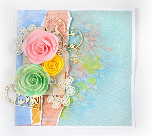 Spring Inspired Card - Oh YES Spring Colors