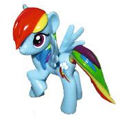 My Little Pony Magazine Figure Rainbow Dash Figure by Egmont