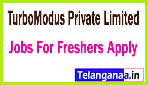 TurboModus Private Limited Recruitment Jobs For Freshers Apply