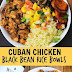 Cuban Chicken & Black Bean Rice Bowls