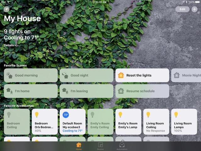 iOS-Home-App