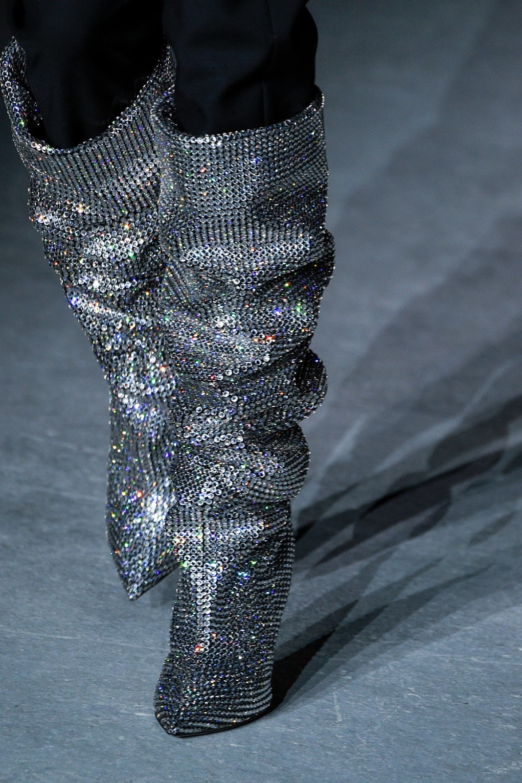 513843e9c31 Real VS Steal: YSL Niki Over The Knee Crystal Boots - Diary Of Doc Diva