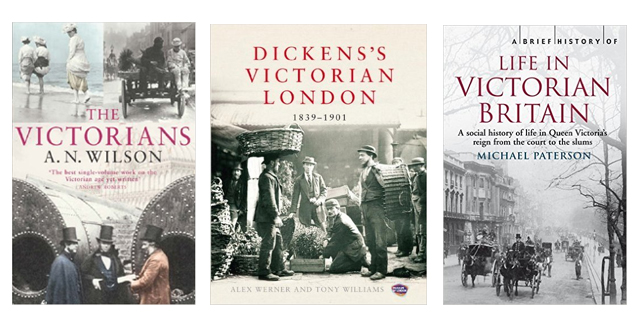 Victorian history books