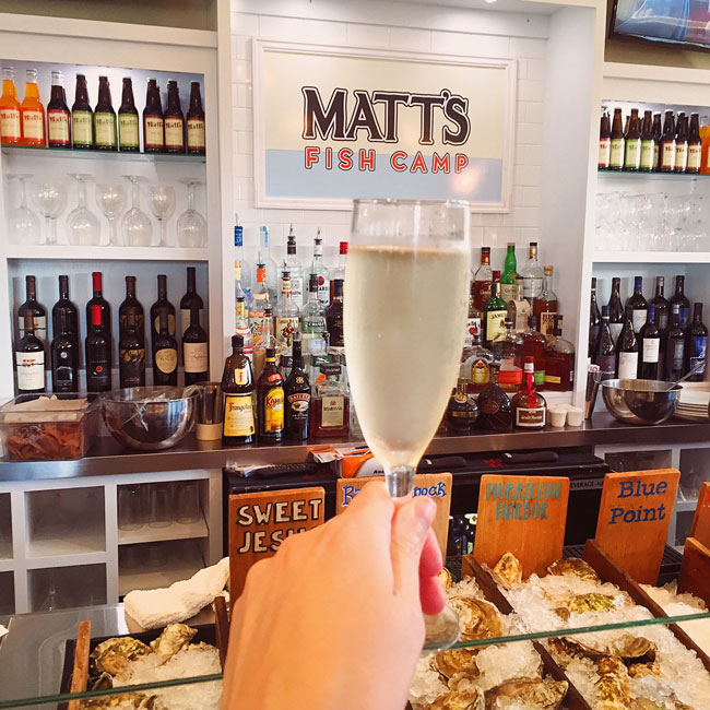 prosecco_matts_fish_camp_lewes_bethany_delaware