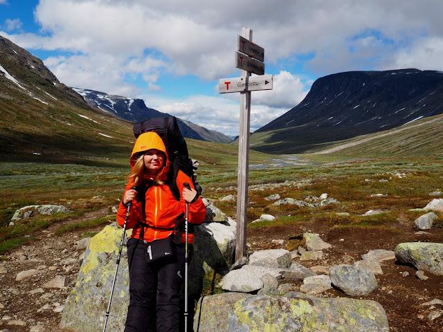 Rozcestník, Jotunheimen, Norsko, příroda, trek