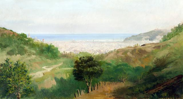 Josep Masriera i Manovens, Pintores españoles, Paisajistas españoles, Pintores Catalanes, Paisajes de Josep Masriera i Manovens