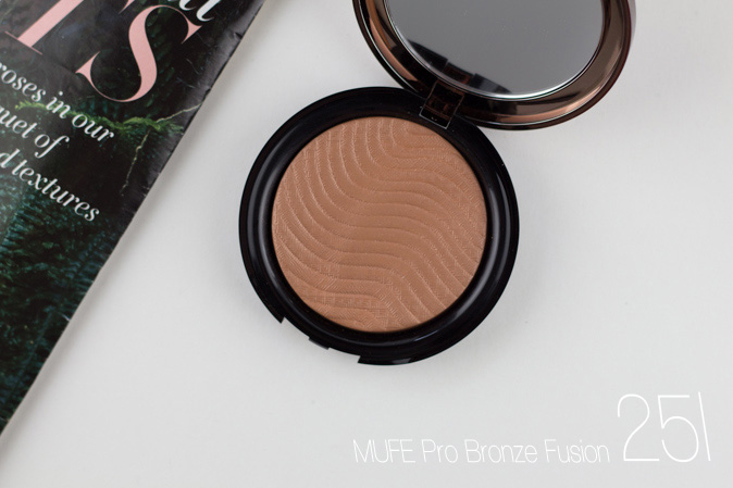 make up for ever mufe pro bronze fusion 25i review