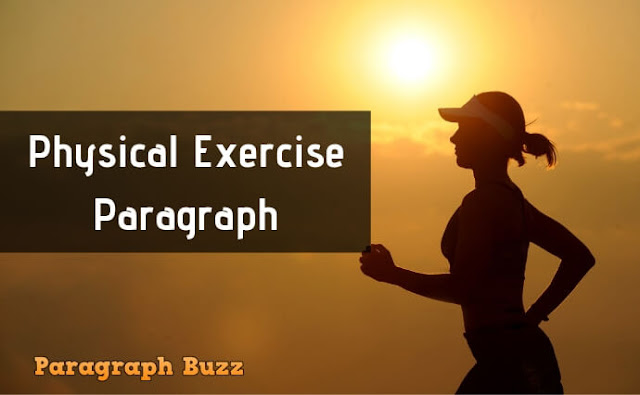 Physical Exercise Paragraph