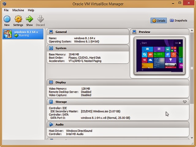 VirtualBox FOR PC ScreenShot