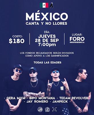 México canta y no llores