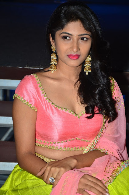 Roshini prakash at Saptagiri express audio release function