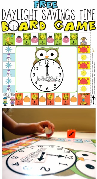Free Daylight Savings Time Board Game