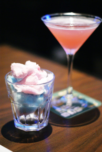 Duffy's Cotton Candy Martini