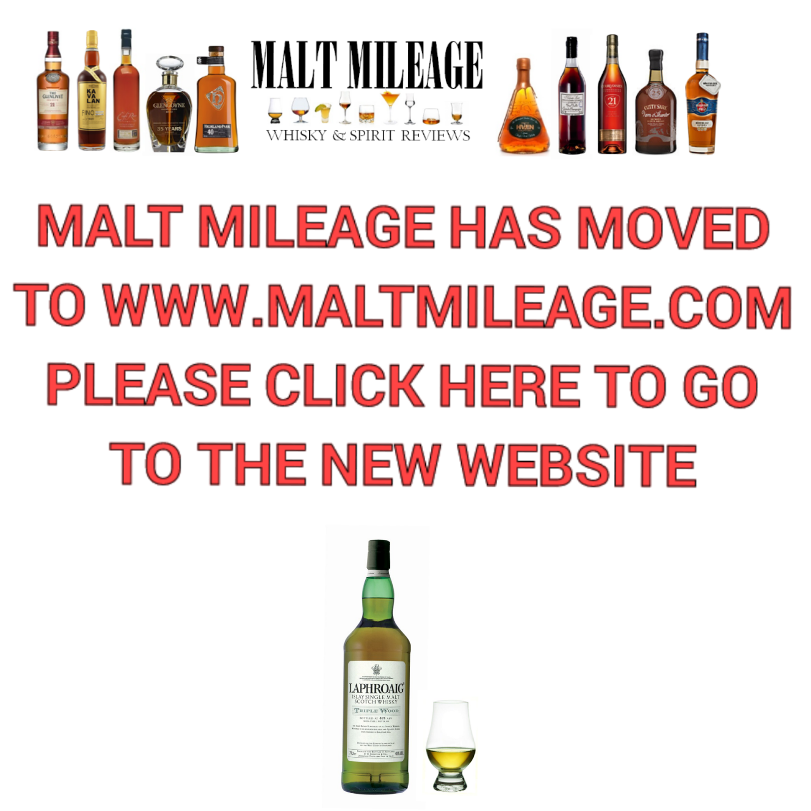 New Malt Mileage website