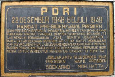 Pemerintahan Darurat Republik Indonesia - berbagaireviews.com