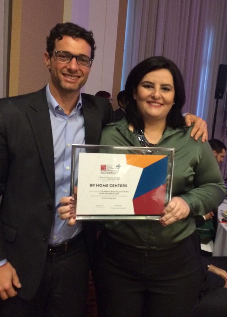 BR Home Centers recebe Prêmio GPTW NOVAREJO