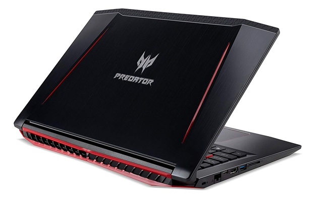 Acer Predator Helios 300 PH315-51-76VB: procesador Core i7 + gráfica GeForce GTX 1060