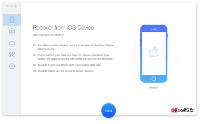 Primo the best iPhone Data Recovery Software 2017 Free Download