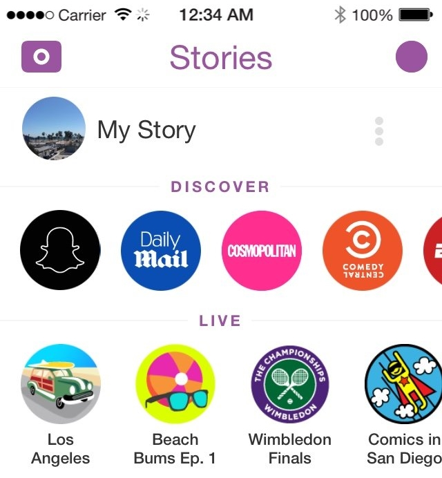 How to Hide Snapchat Discover section and Live events