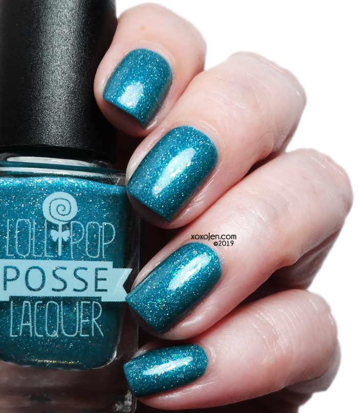 xoxoJen's swatch of Lollipop Posse Most Faithful Mirror