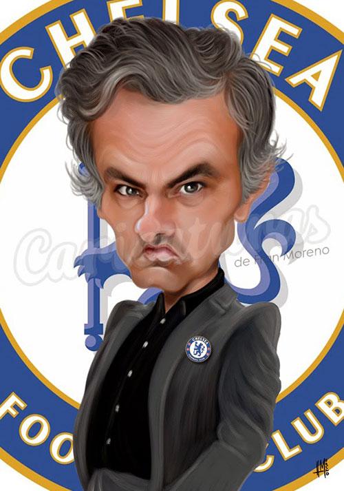 """""""José Mourinho"""" por Fran Moreno"""