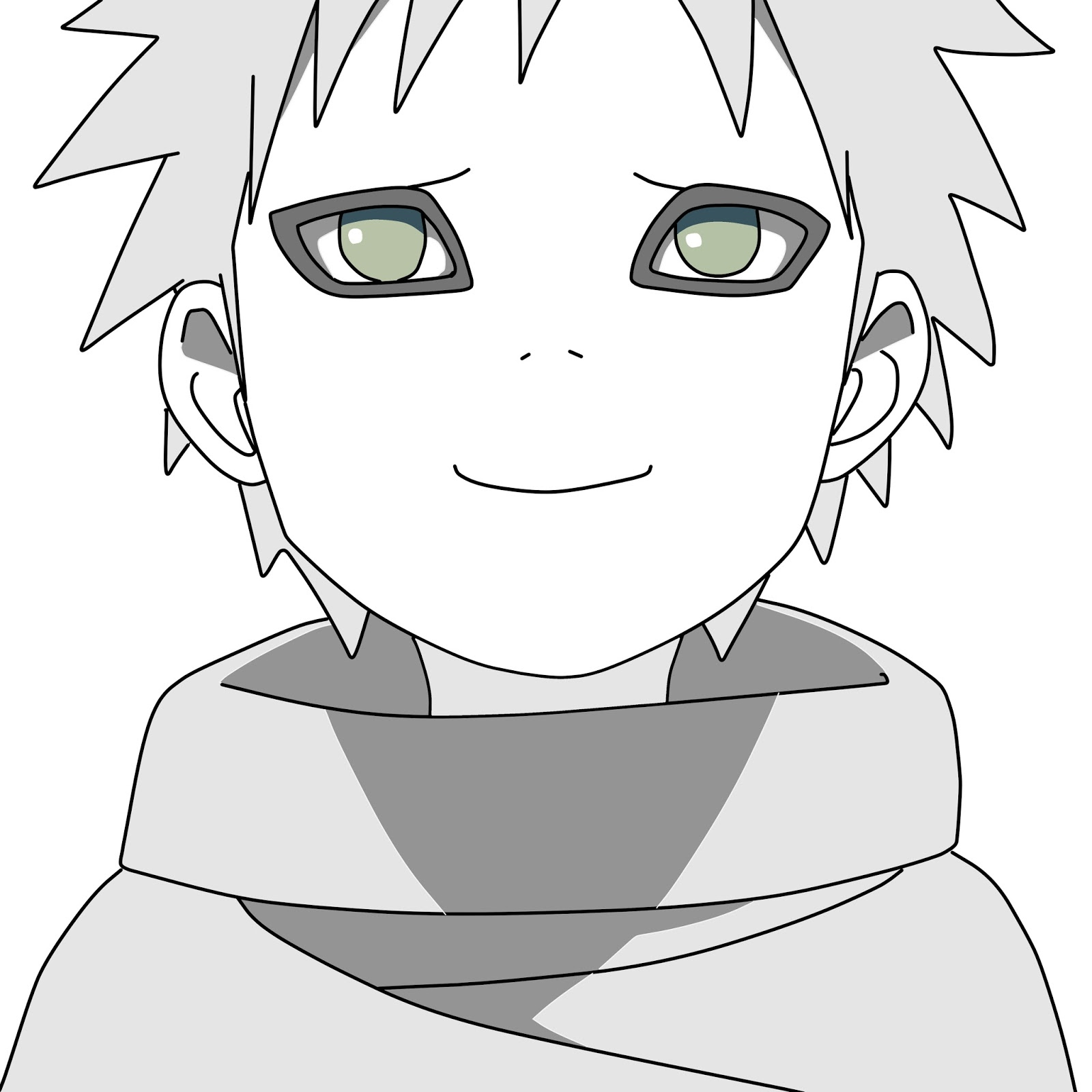 Sketsa Gambar Naruto Download