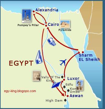 Karte ägypten Nil.ägypten Karte ägypten König