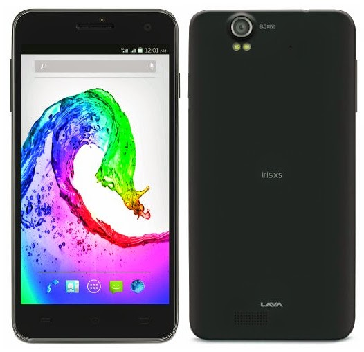 Lava Iris X5 with 5 MP camera and 5 Inch screen launched @ Rs. 8,799 | MobileTalkNews