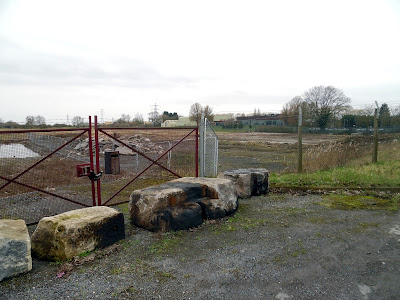 Buildings have been cleared from the site in Brigg where the new Aldi store is to be built - picture taken February 2019