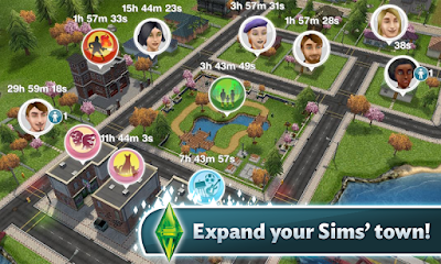 The Sims FreePlay v5.23.1 MOD APK+DATA Terbaru