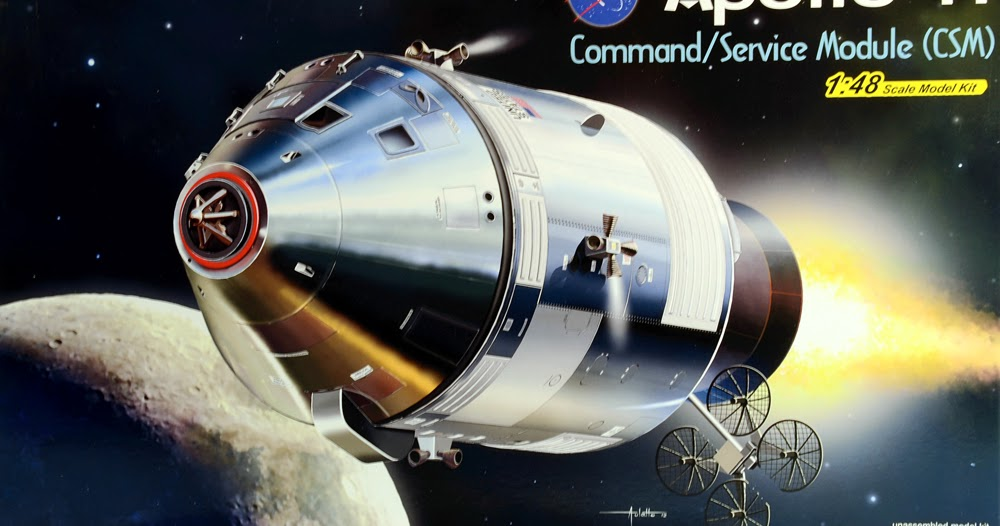 Scale Model News: MORE APOLLO 11 SPACECRAFT KITS FROM ...