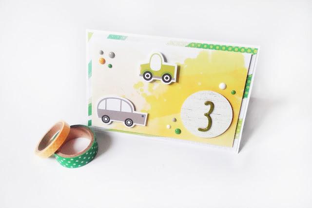 Kartka dla 3-latka