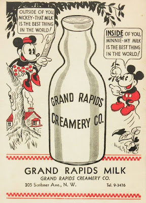 Grand Rapids Milk with Micky and Minnie