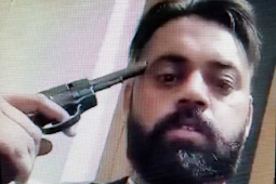 Pemuda Phagwara Tembak Kepala Sendiri dan Menyiarkannya Secara Langsung di Facebook