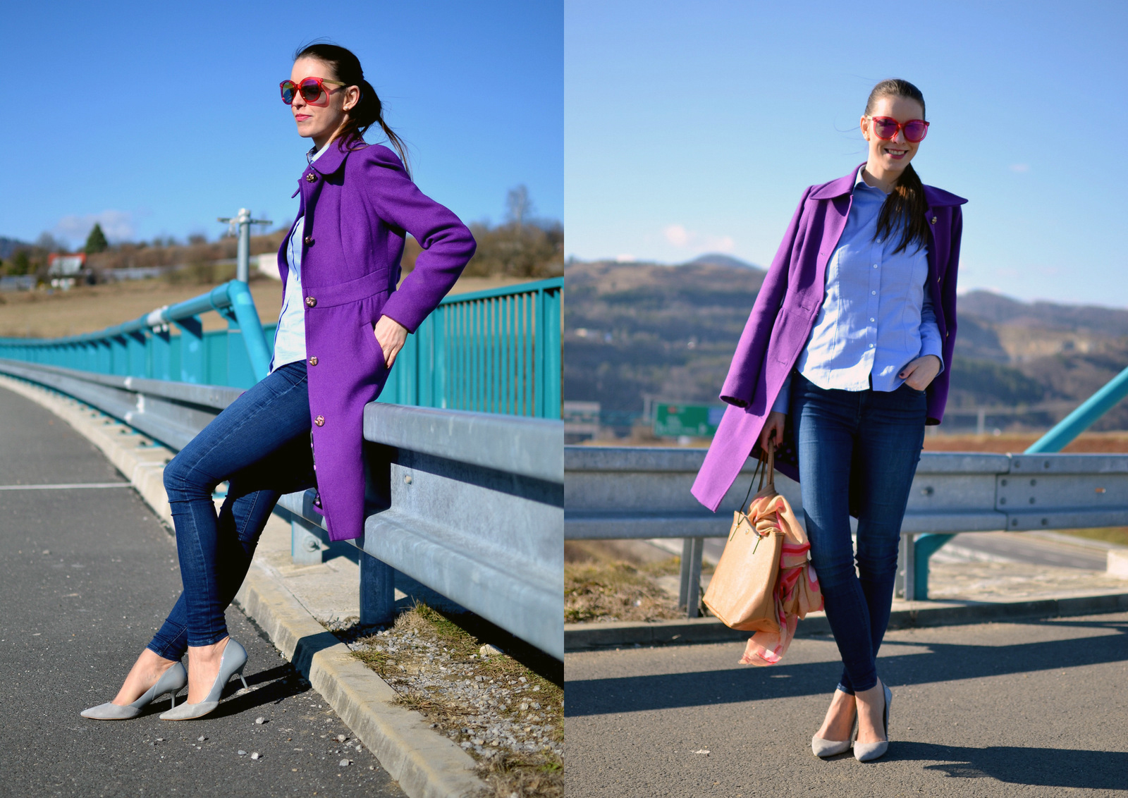 4936d63f64c0 3 outfity   1 košeľa    three outfits with one shirt - Blogerky.cz