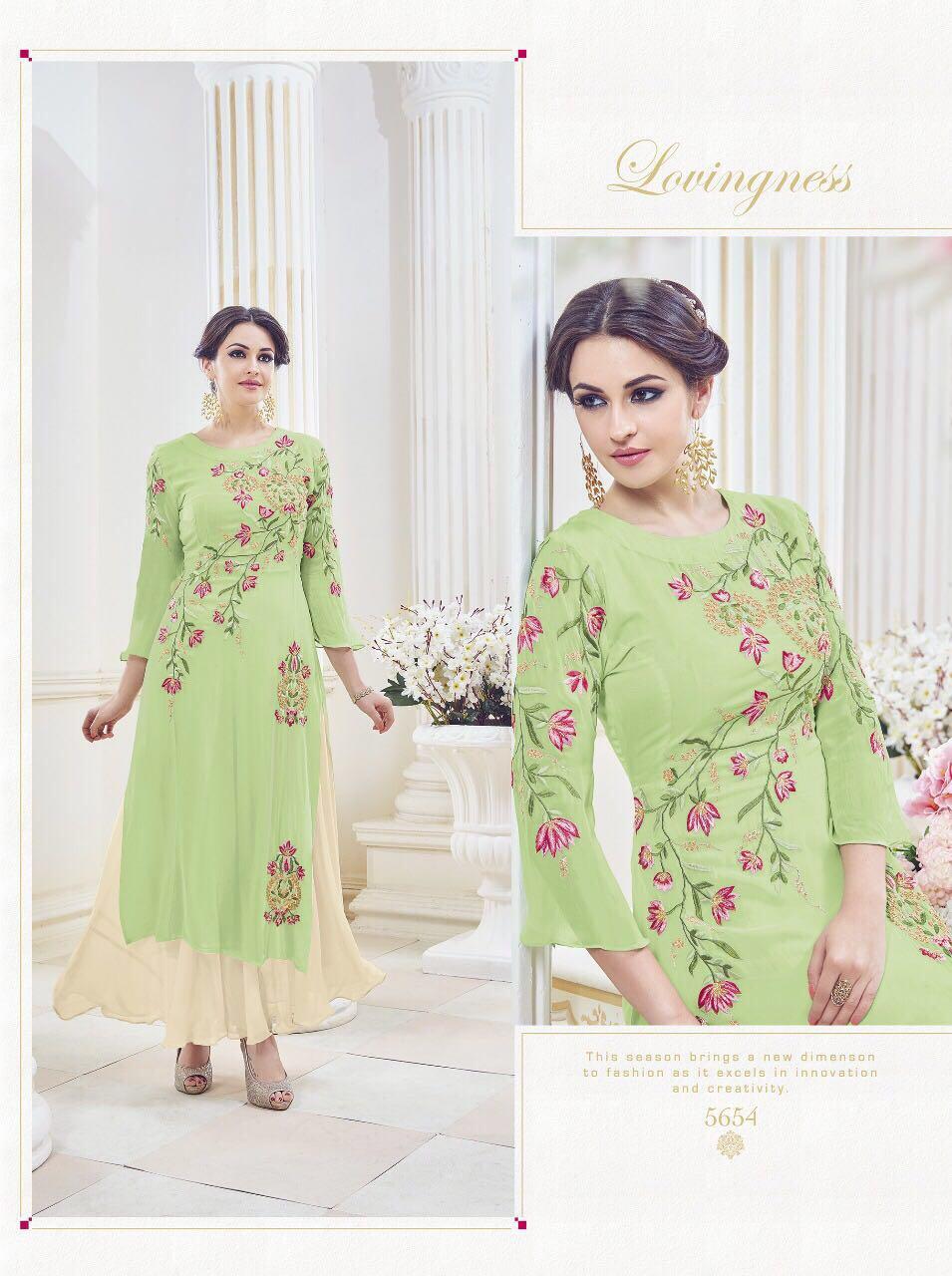 Aaruchi-9 – Designer Georgette Semi Stitched Salwar Suit