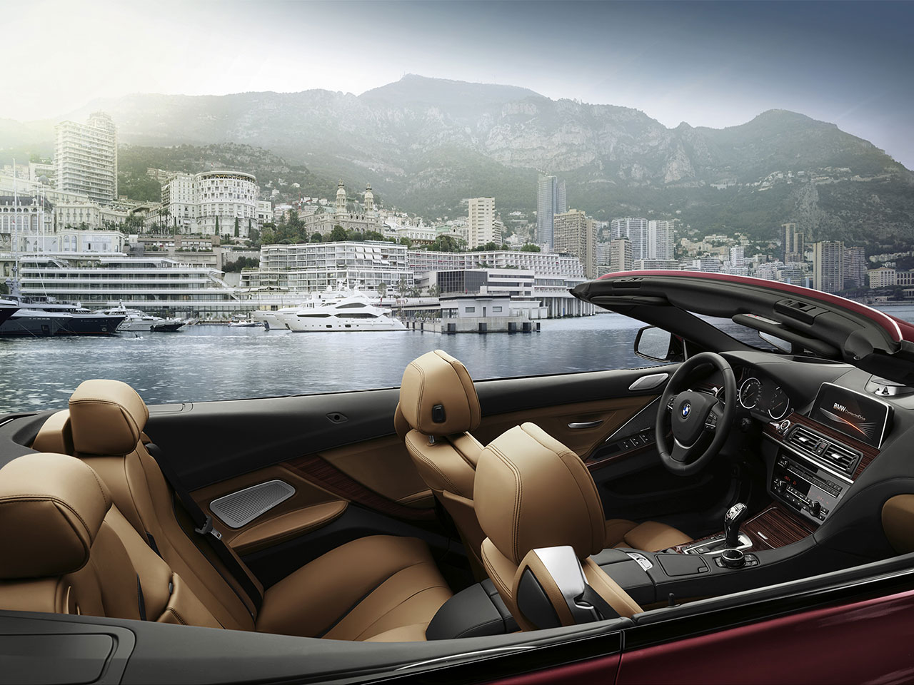 BMW 6 Series convertible interior