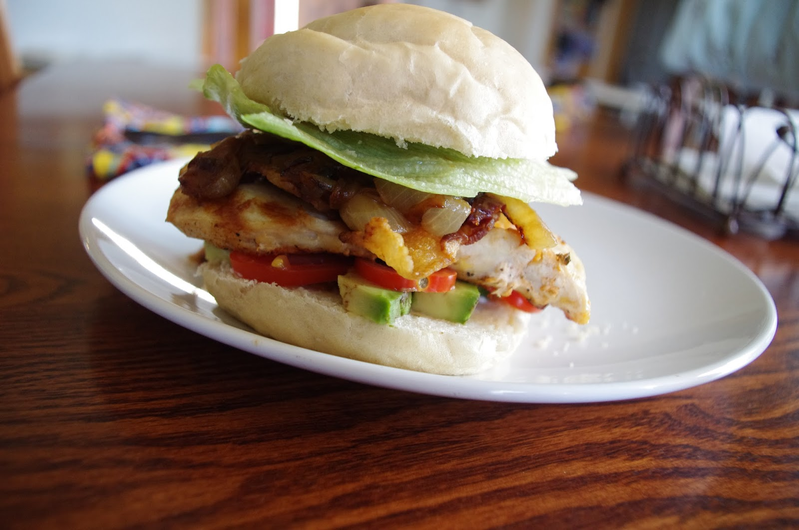 Let's Eat!: Grilled Chicken Club Sandwich