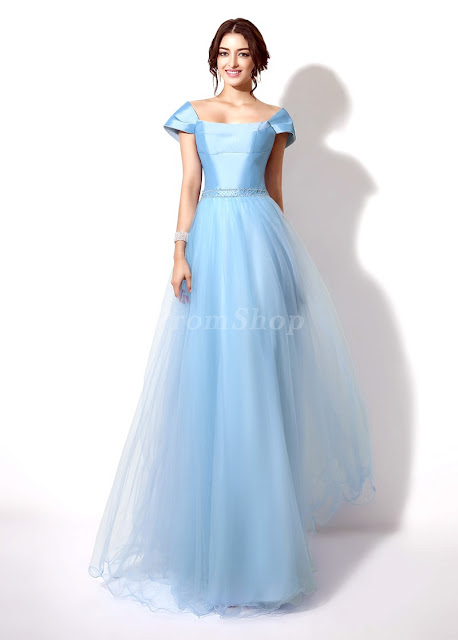 """8 Classic Dresses for Prom"" Blog Post/Article by @TheGracefulMist (www.TheGracefulMist.com) - Elegant Princess Prom Dress"